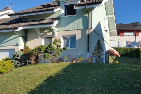 Chambre privé dans maison à Evian - Évian-les-Bains - 一軒家