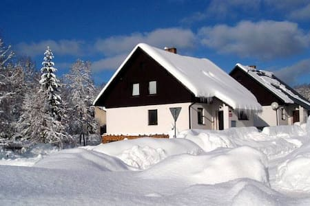 Patro domu /Private floor of house - Deštné v Orlických horách