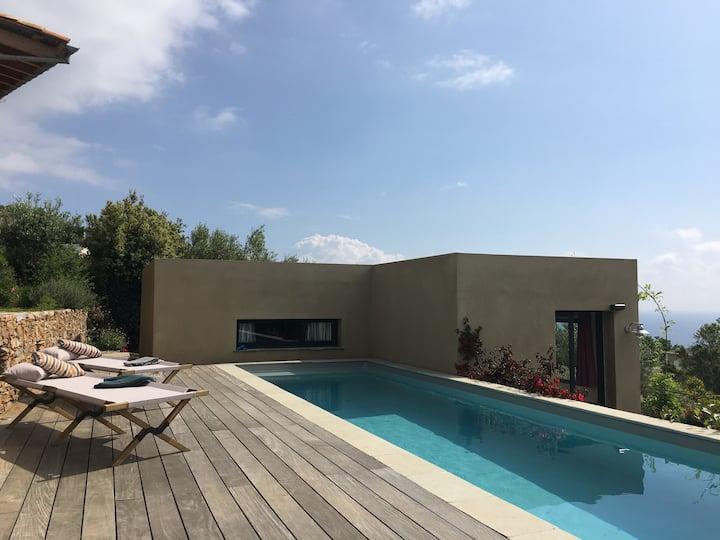 Cap Corse, chambres d'hôtes entre mer et maquis