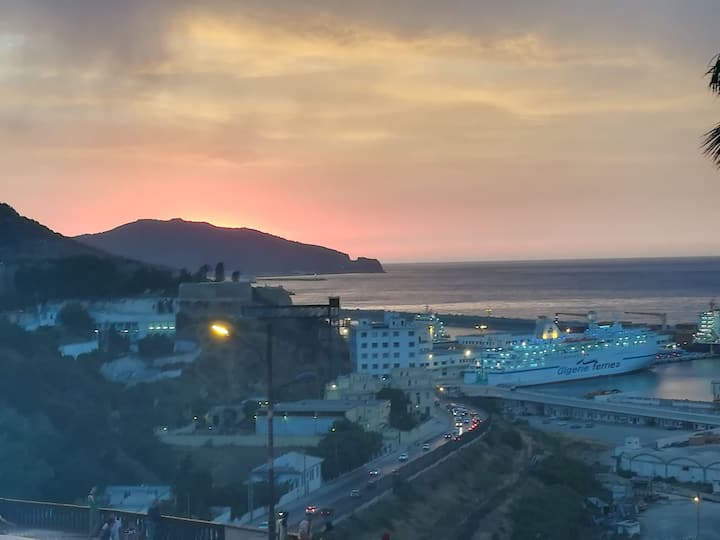 Appartement avec sublime vue sur mer