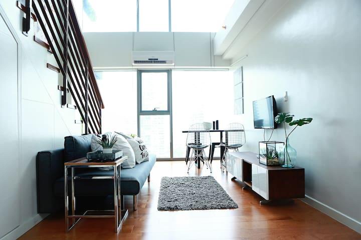 1BR Greenbelt Central Makati Modern Loft - Makati - Loft