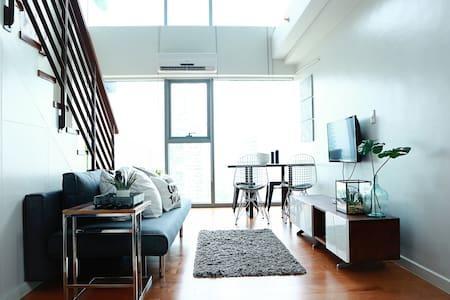 1BR Greenbelt Central Makati Modern Loft - Loft