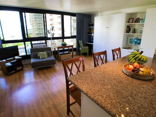 LEGAL RENTAL-LOVELY large unit 1 BLOCK 2 BEACH! 92