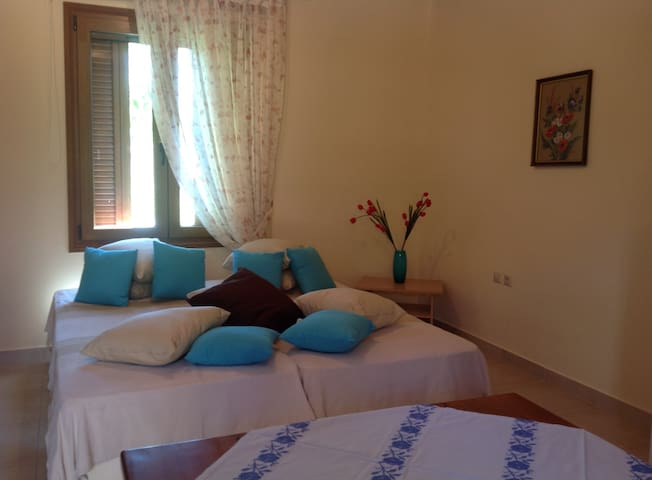 Cozy private Studio near Chania city +garden, BBQ - Chania