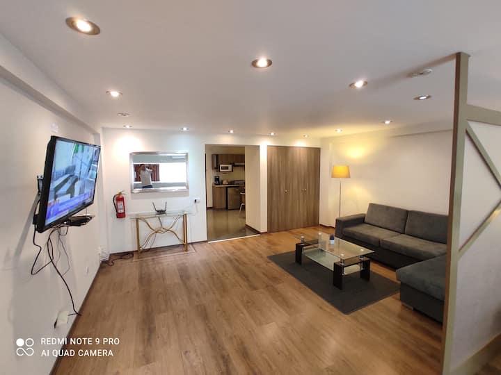 San isidro Super suite Comoda para descansar203