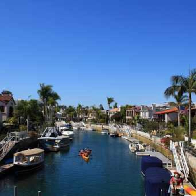 Naples Island canals