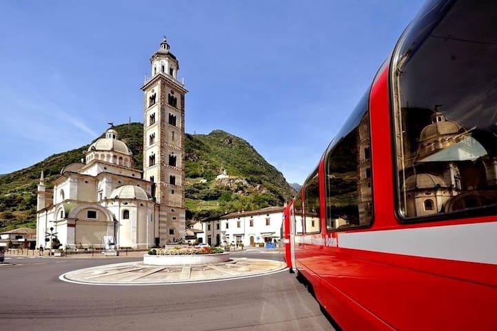 Loft a 2 passi dal Bernina Express - Tirano - Apartment