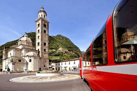 Loft a 2 passi dal Bernina Express - Tirano