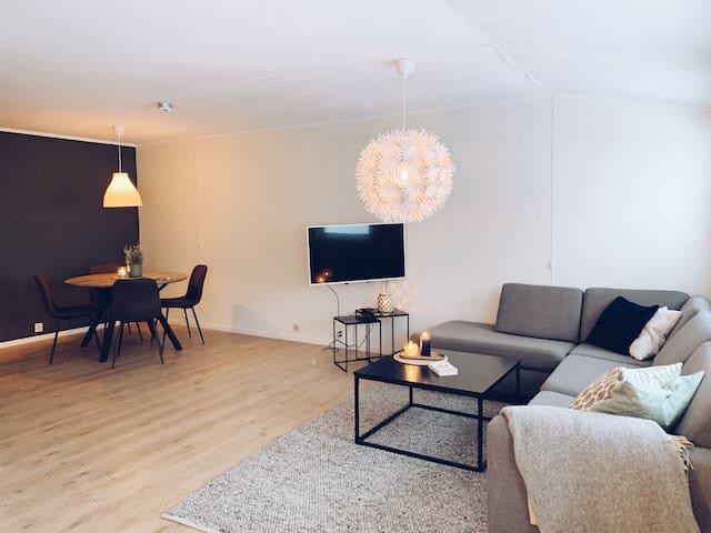 Romslig leilighet i Bodø sentrum