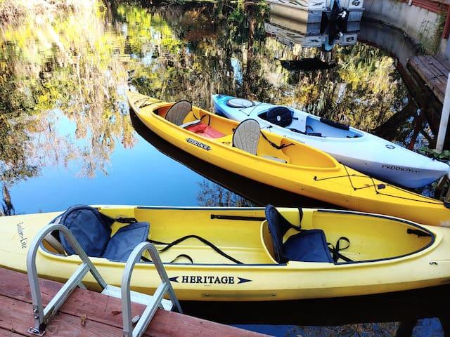 Wekiva Riverside Retreat...with Kayaks