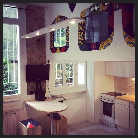 Brand new flat near Canal Saint Martin - Paris - Apartmen