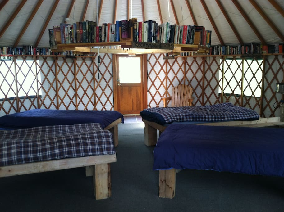 The Thoreau Yurt