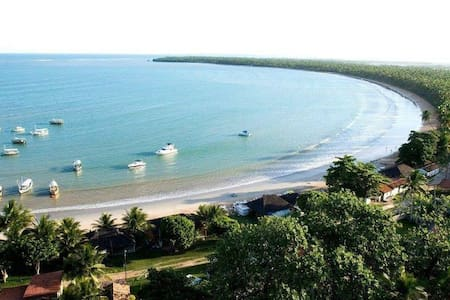 Garapuá, paraíso, casa frente praia - Cairu - Dům