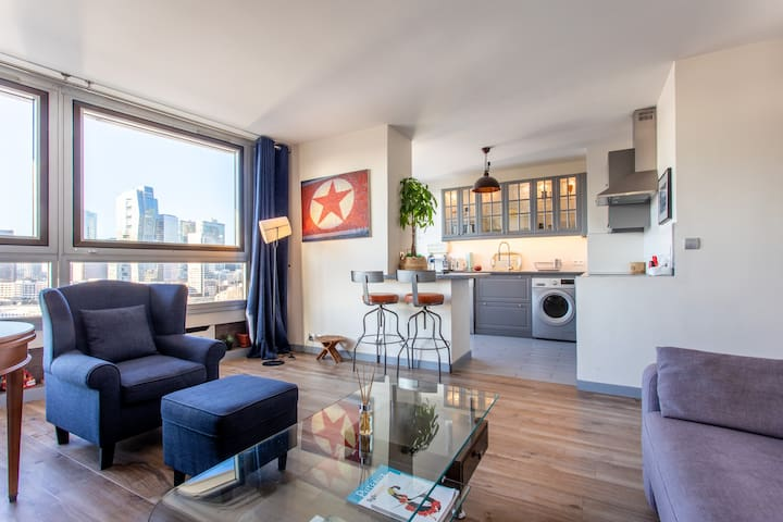 The «24th» : beautiful apartment with magical view