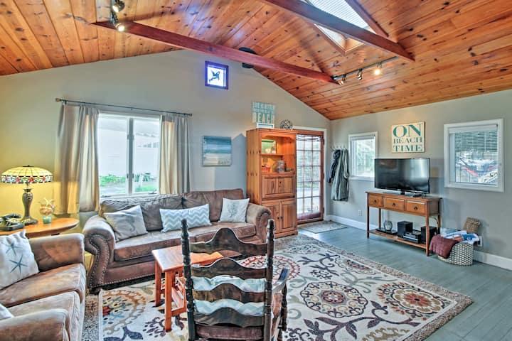 Dillon Beach House w/Patio - 200 Feet From Beach!