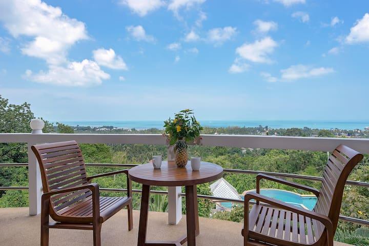 SH1: Fantastic sea view 3 bedroom villa