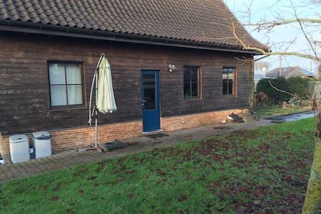 guest house in garden.