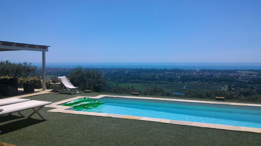 LUXURY VILLA SEA VIEW AND POOL - Pietrasanta - Villa