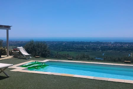 LUXURY VILLA SEA VIEW AND POOL - Pietrasanta - 别墅