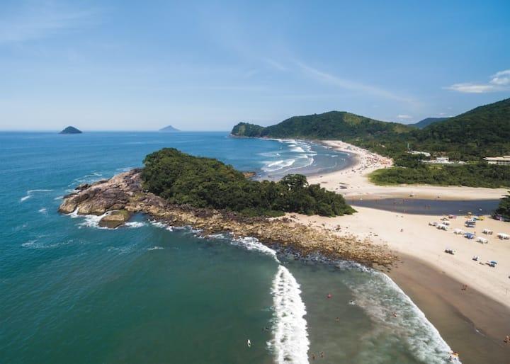 Casa charmosa - Praias&Cachoeiras - para 6 pessoas