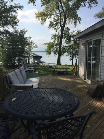 White Potato Lake Home with a View