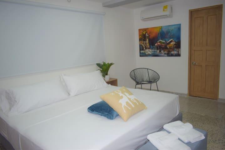 HABITACIÓN KING - ANDAGI HOTEL CTG