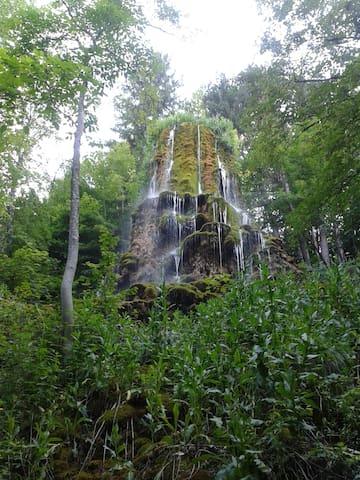 La cascade au musée promenade de Digne-les-Bains