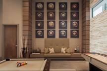 Pool Table & Game Room
