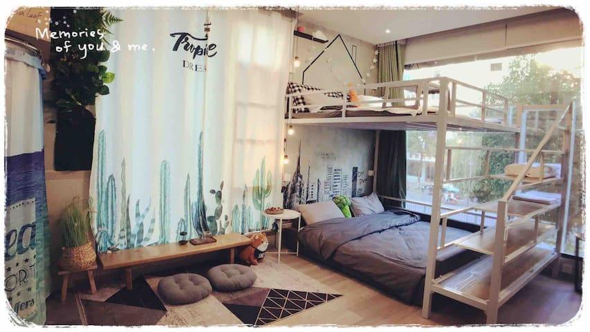 横店影视城50平loft生活家公寓