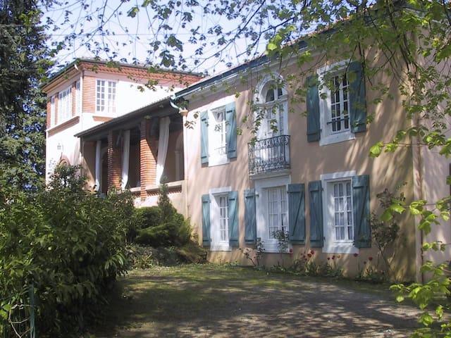 gite dans maison de caractère - Montfort-en-Chalosse - Natur lodge