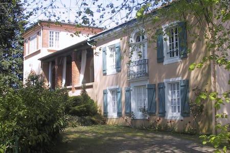 gite dans maison de caractère - Montfort-en-Chalosse - Natur-Lodge