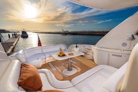 Luxury Yacht (Ocean Village Marina) - Gibraltar