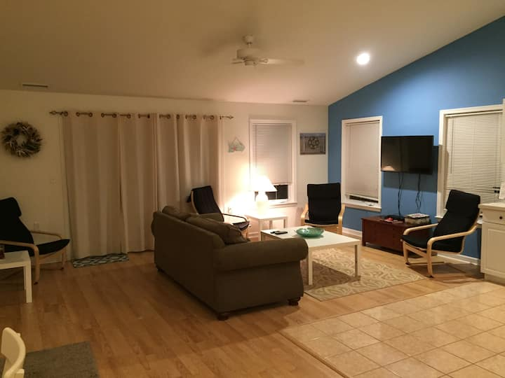 Spacious Condo Two Blocks from Boardwalk 220