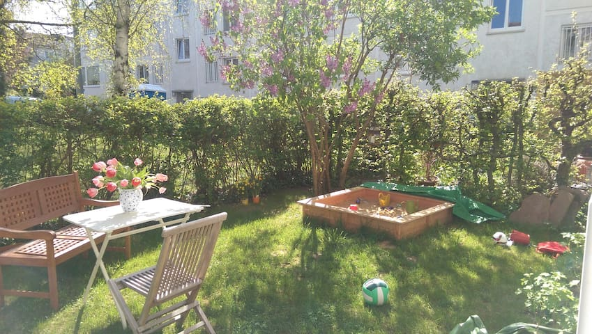 Appartment with garden on Killesberg - Stuttgart - Leilighet