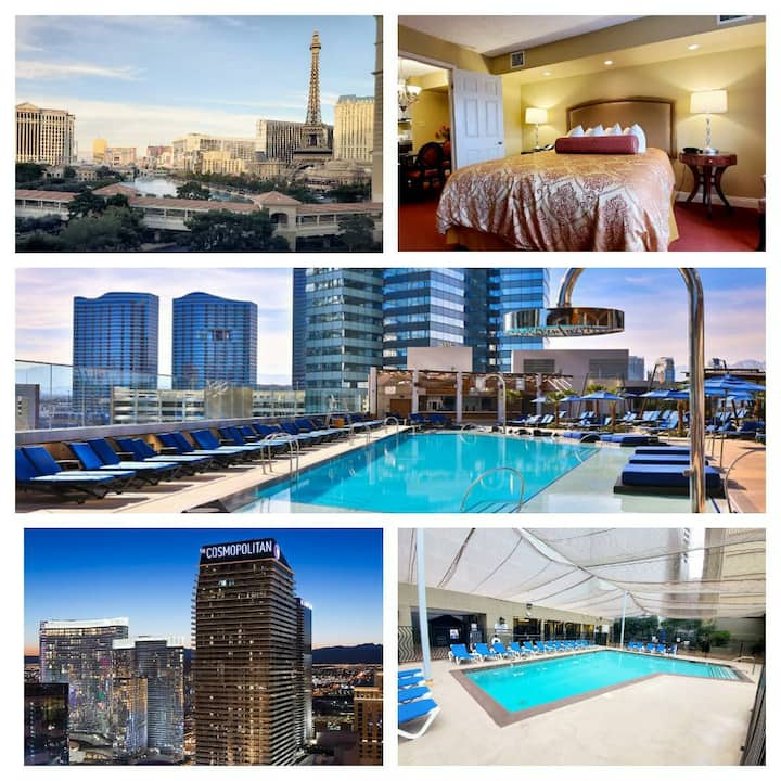 Pool open!Amazing condo in the middle of the Strip