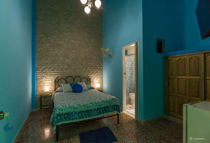 Habitacion Celeste - La Habana - Hus