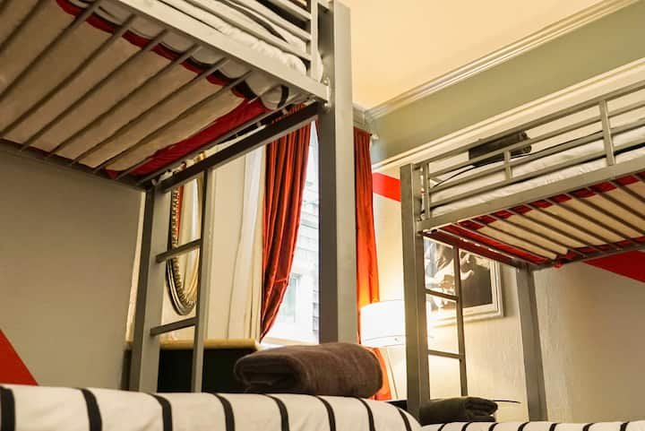 Music City Hotel, Single Bed 4-Bed Female Dorm Rm