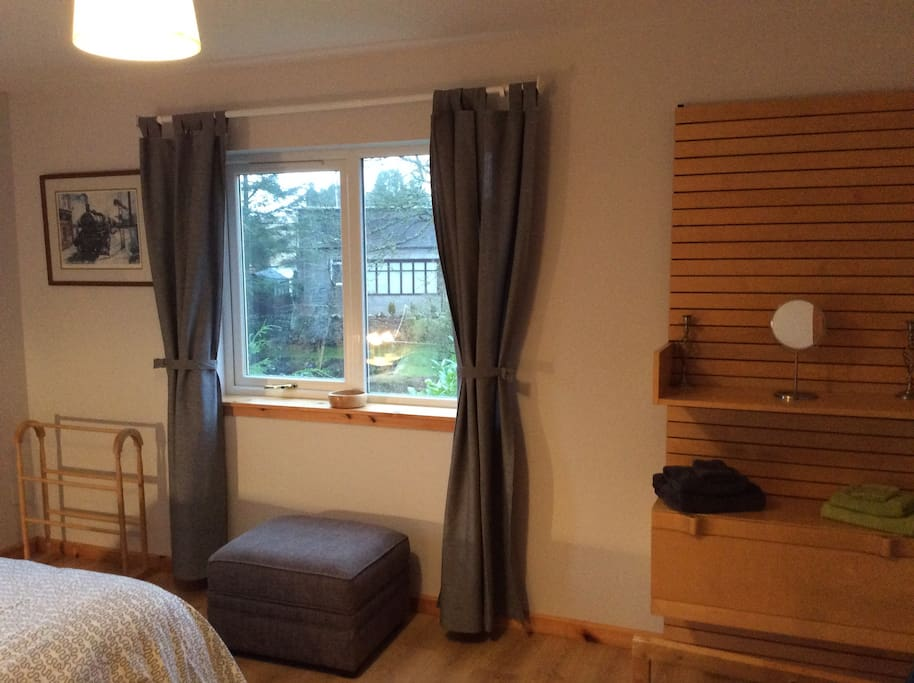 Double room with garden views