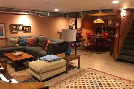 A Two-Bedroom Basement Studio