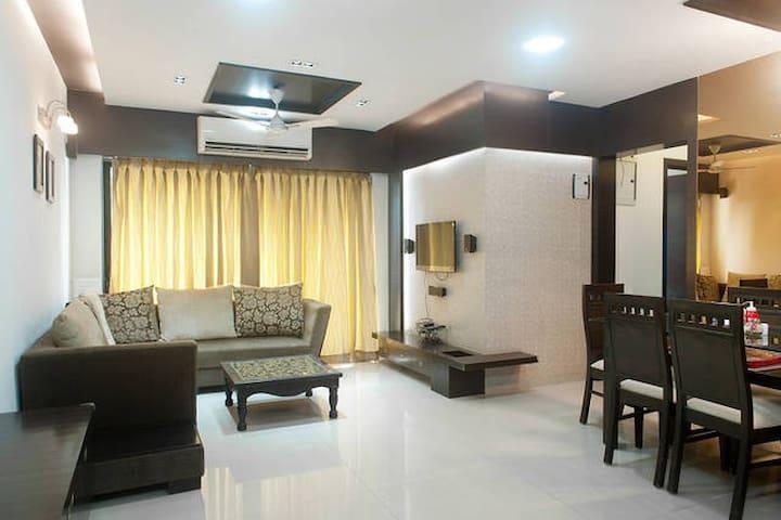 2 rooms in 3 BHK Andheri near Lalco,SEEPZ,NESCO - Mumbai - Apartment