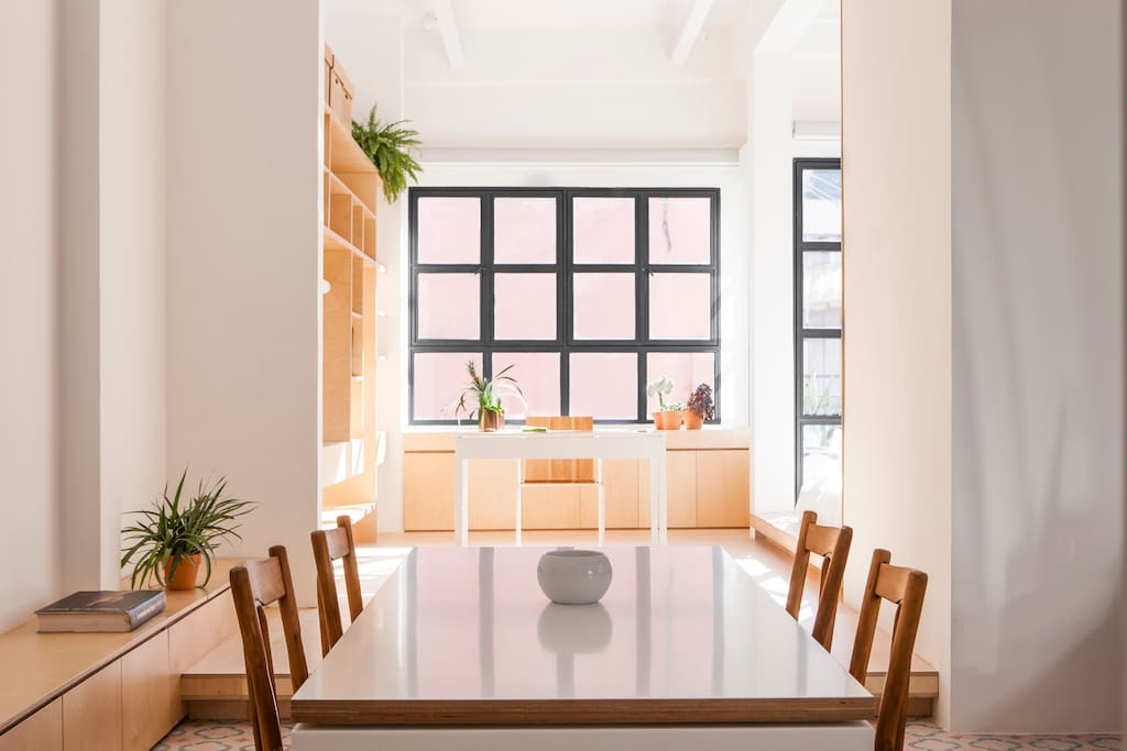 Dinning area for those gourmet meals