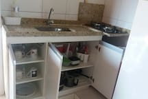 Alugo arraial do Cabo suite conjugada  com cozinha