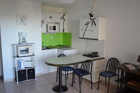 Joli T2 agréable avec loggia vue mer et montagne - Banyuls-sur-Mer - 公寓