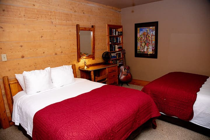 Ranch House - Bedroom #2 - Two Double Beds - Ground    Level
