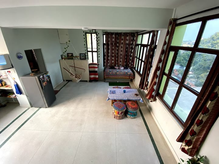 Private homely room | A/C,pocket Wifi,terrace