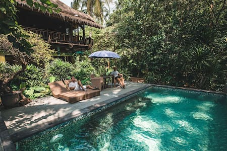Bali Eco Beach House - Private /Pool /Nature