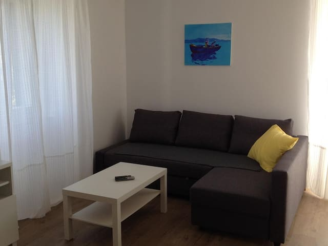 One bedroom apartment with air-conditioning Punat, Krk (A-14207-c)