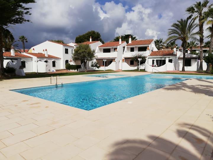 Apartamento con piscina en Cala'n Bosc, Ciudadela⛱