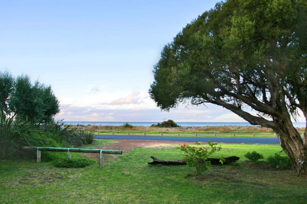 View to Geographe Bay from deck