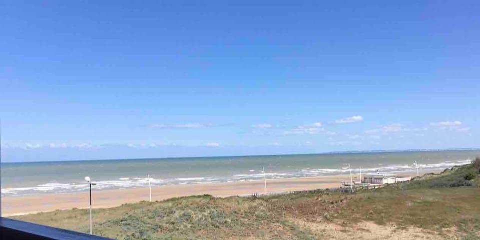 Cabourg-la mer à perte de vue